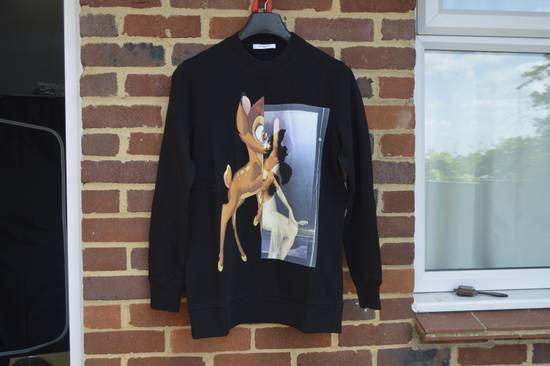 Givenchy Black Bambi Sweater Size US XS / EU 42 / 0