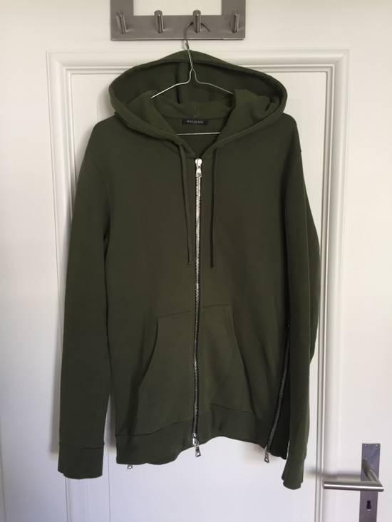 Balmain Khaki/Olive Hoodie Size US M / EU 48-50 / 2