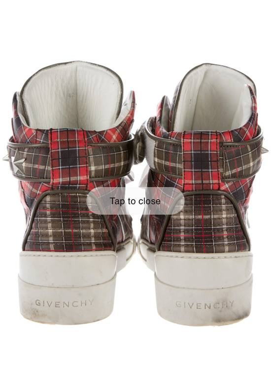 Givenchy Givenchy Plaid Tyson Sneakers Size US 10 / EU 43 - 2