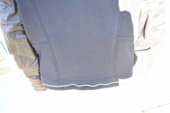 Balmain Authentic BALMAIN COTTON-PANELLED LEATHER BIKER JACKET Size S Brand New Size US S / EU 44-46 / 1 - 6