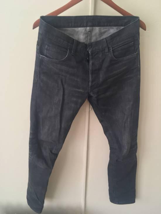Balmain Dark Grey 3D jeans Size US 27