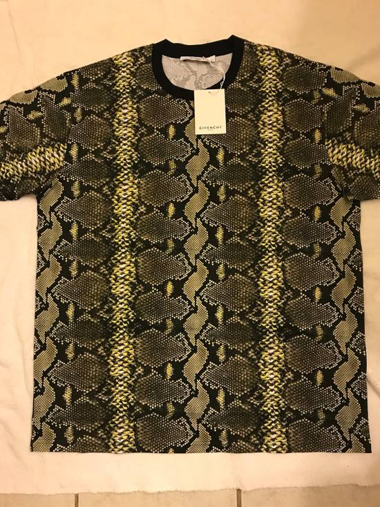 Givenchy Snakeskin Print Cotton T-Shirt Size US XL / EU 56 / 4 - 10