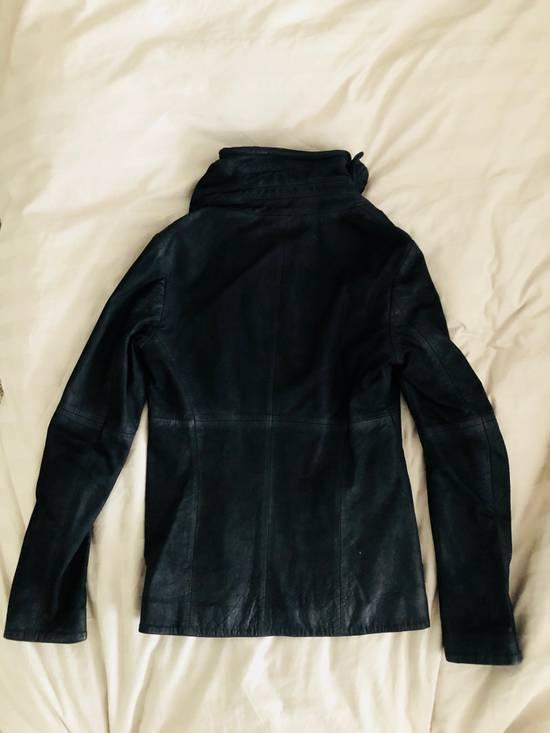 Julius Cowl Neck Leather Jacket Size US M / EU 48-50 / 2 - 2
