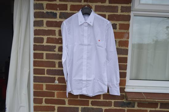 Givenchy White Metal Stars Collar Shirt Size US L / EU 52-54 / 3