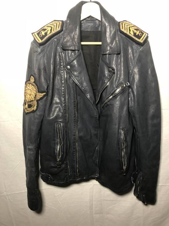 Balmain Sailor's Leather Jacket Size 50 Size US M / EU 48-50 / 2