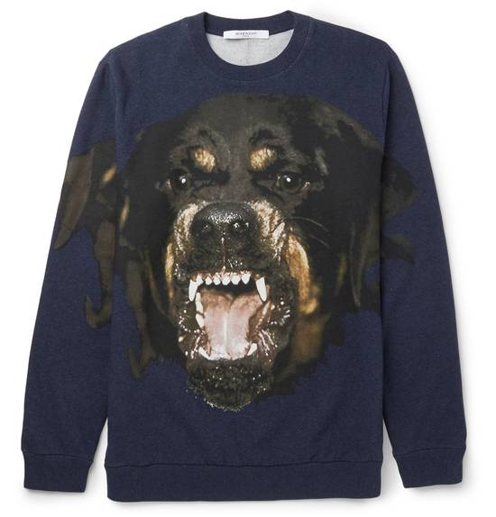 Givenchy Blue Rottweiler Sweater Size US S / EU 44-46 / 1 - 1