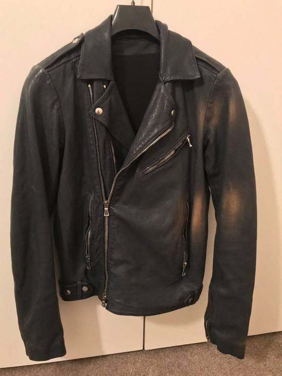 Balmain Navy Balmain Leather Jacket Size US S / EU 44-46 / 1 - 2
