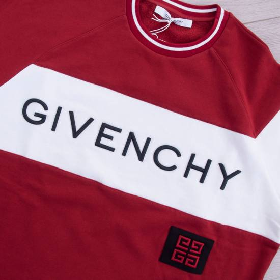 Givenchy Dark Red Givenchy Paris 4G Embroidered Sweatshirt Size US M / EU 48-50 / 2 - 5