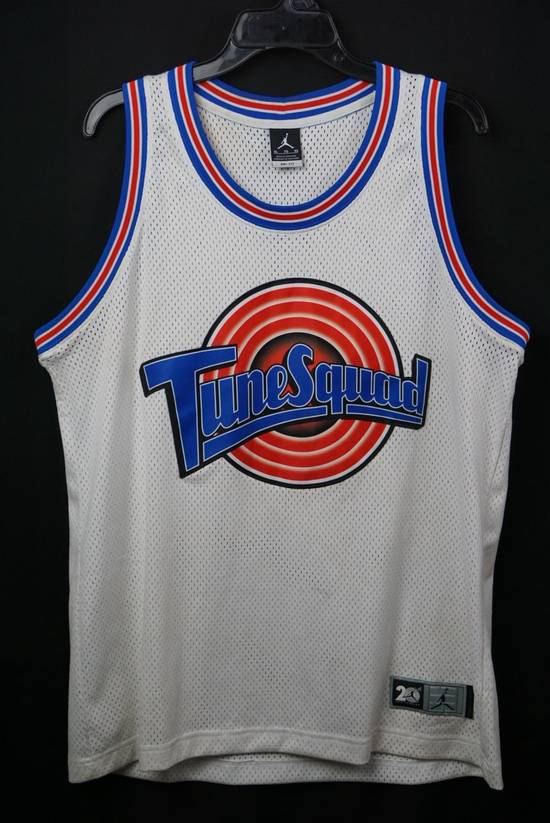 new product 0c9d4 52f28 Michael Jordan Space Jam White Tune Squad 23 Jersey