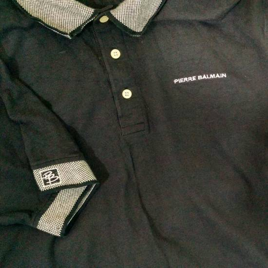 Balmain [LAST DROP] PIERRE BALMAIN Polo Shirt Rare!! Vintage Authentic Size US L / EU 52-54 / 3 - 3