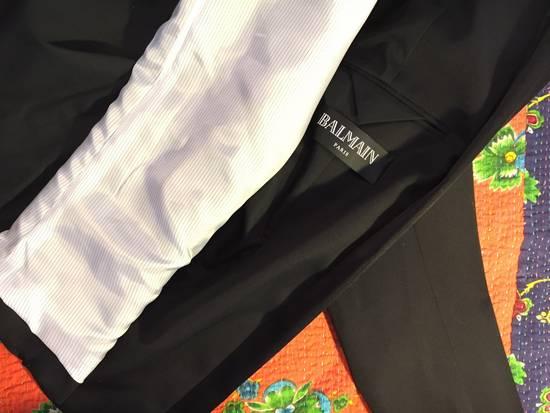 Balmain Black Dinner Jacket Size 52R - 2