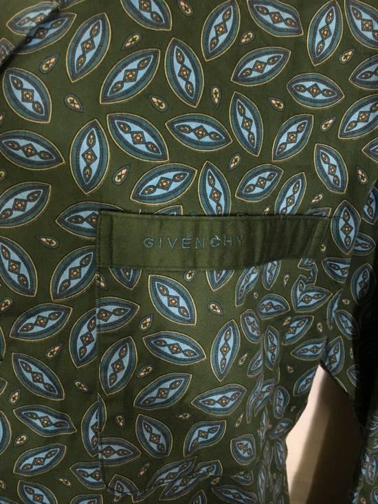 Givenchy Vintage GIVENCHY Monsieur Long Sleeve Button Up Shirt Paisley Design Size US L / EU 52-54 / 3 - 1