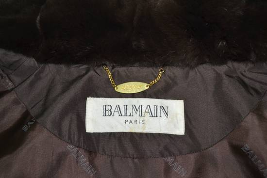 Balmain BALMAIN Jacket Pierre Balmain Jacket Vintage Balmain Paris Fur Lining Collar Button Jacket Size M-L Size US L / EU 52-54 / 3 - 5