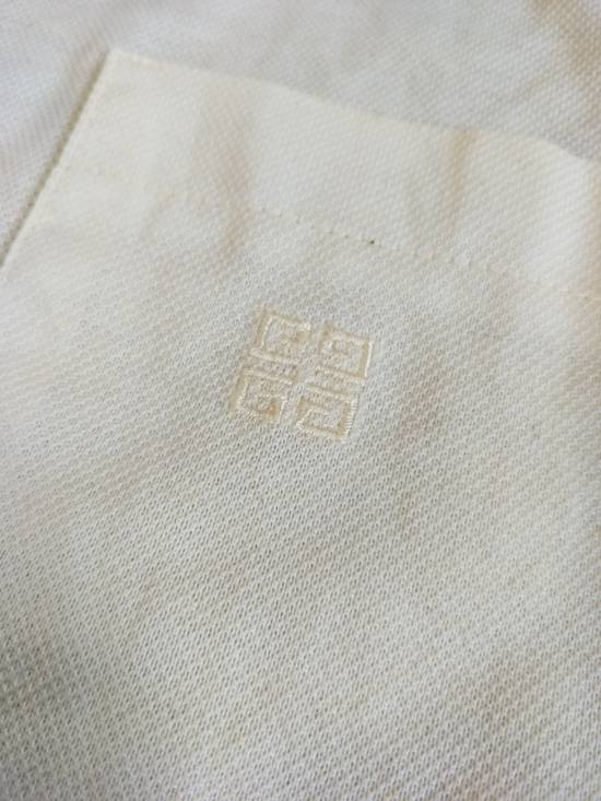 Givenchy France Designer / Vtg Classic Givenchy Paris GC / Yellow Pocket Embroidered Logo / Made In Italy / Excellent Condition / Large Size Size US L / EU 52-54 / 3 - 1