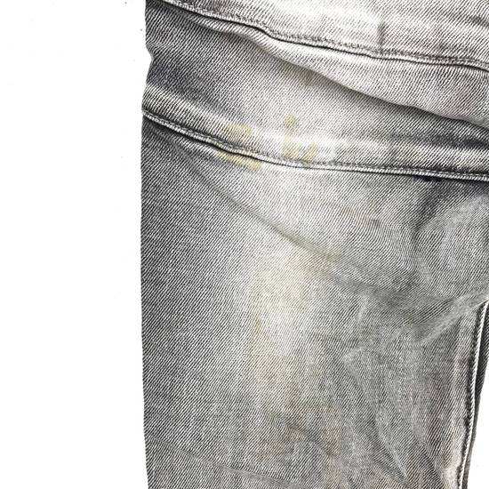 Balmain Rare! Distressed Balmain Biker Denim Jean Trouser Skinny Luxury Designer Size US 32 / EU 48 - 12