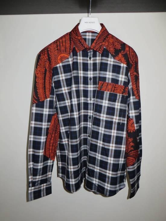 Givenchy Paisley-check print shirt Size US S / EU 44-46 / 1