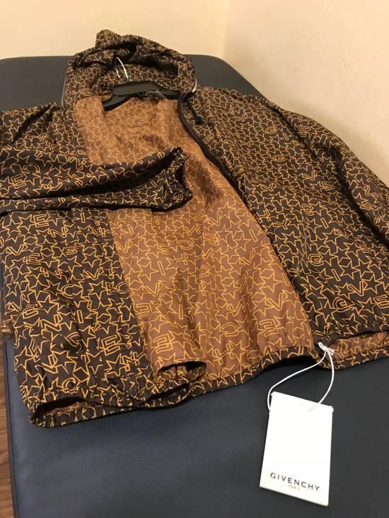 Givenchy Brown Star & Logo Contrast Zipper Size US L / EU 52-54 / 3 - 1
