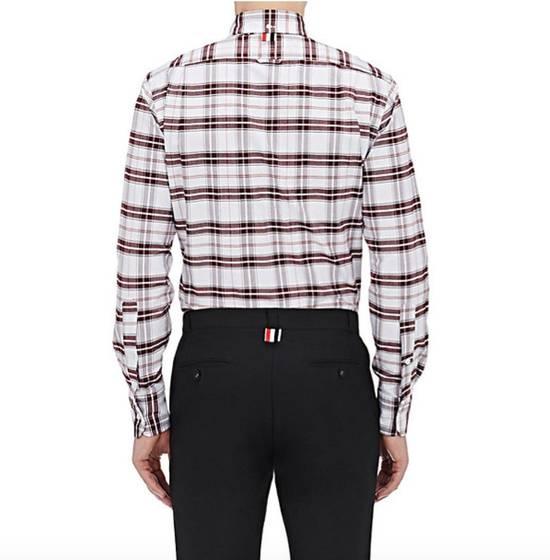 Thom Browne Plaid Oxford Cloth Shirt with Grosgrain Tab NEW Size US S / EU 44-46 / 1 - 1