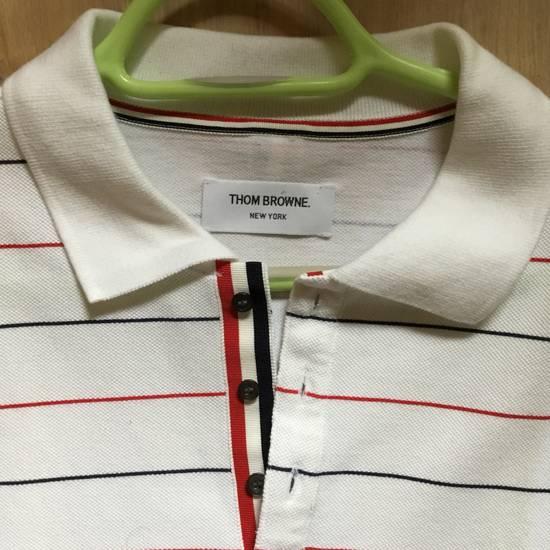 Thom Browne THOM BROWNE POLO-SHIRT rare! Size US XL / EU 56 / 4 - 2