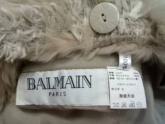 Balmain Vintage Balmain Paris Fur and Silk Reversible Jacket RARE Design Size US L / EU 52-54 / 3 - 16