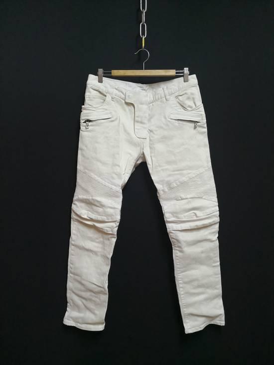 Balmain Balmain Coated biker Jeans Size US 33