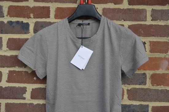 Balmain Distressed Striped T-shirt Size US M / EU 48-50 / 2 - 1