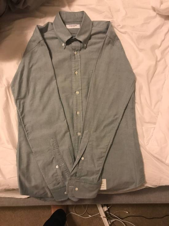 Thom Browne Green Button Down Oxford (Originally $600+) Size US M / EU 48-50 / 2 - 4