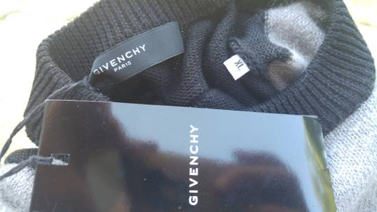 Givenchy Givenchy Striped Stars Wool and Mohair Cuban Fit Knit Sweater size XL (M / L) Size US XL / EU 56 / 4 - 9