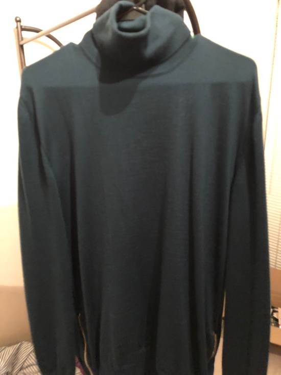 Balmain Side Zip Turtle Neck Size US XL / EU 56 / 4
