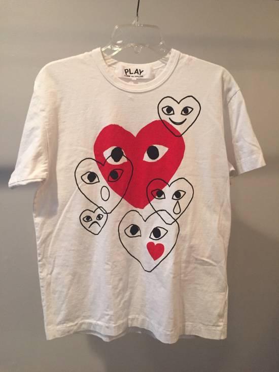 Comme des Garcons Heart Emoji Tee Size US XL / EU 56 / 4
