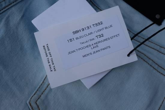 Balmain Light Blue Biker Jeans Size US 32 / EU 48 - 11