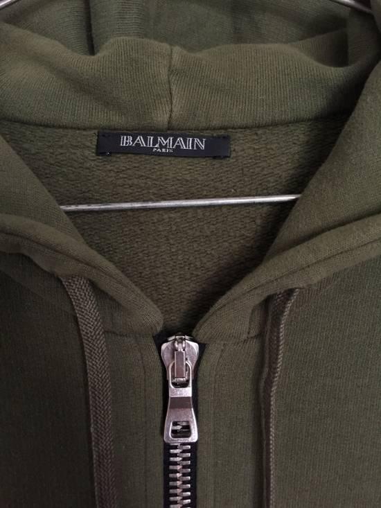 Balmain Khaki/Olive Hoodie Size US M / EU 48-50 / 2 - 2