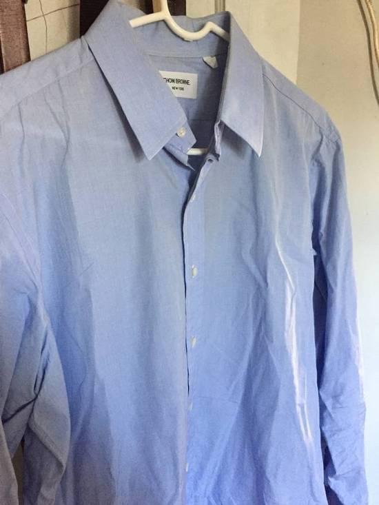 Thom Browne BLue Collar Shirt Size US XXL / EU 58 / 5 - 1