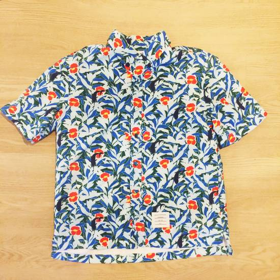 Thom Browne Hawaiin Print Tropical Swim Shirt Size US XL / EU 56 / 4