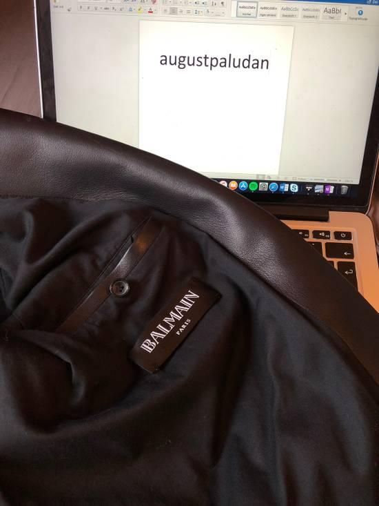 Balmain Balmain Leather Biker Jacket Size US M / EU 48-50 / 2 - 3