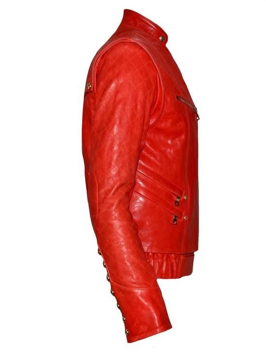Balmain Layered Biker Leather Jacket Size US M / EU 48-50 / 2 - 4
