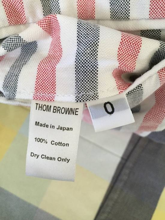 Thom Browne Thom Browne Spring 2011 Size 0 Jacket Yellow Gray Light Blue Plaid Blazer Size 36R - 4