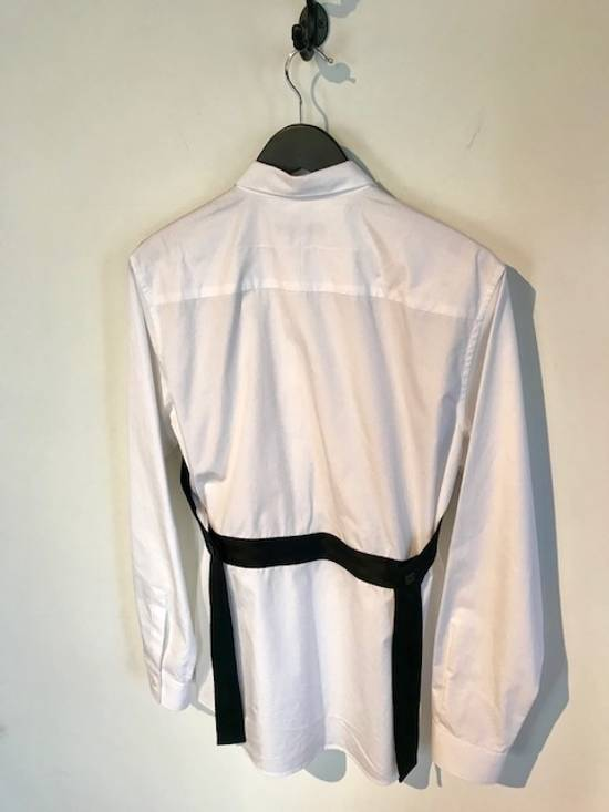 Givenchy Givenchy White Harness Straps Button Down Shirt Size US M / EU 48-50 / 2 - 1