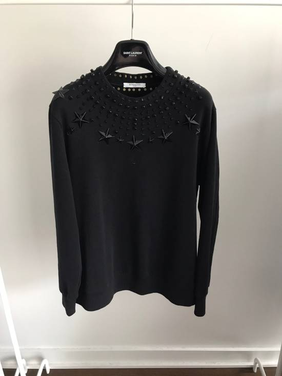 Givenchy 12FW Crystal and Metal Stars Sweatshirt Size US XS / EU 42 / 0