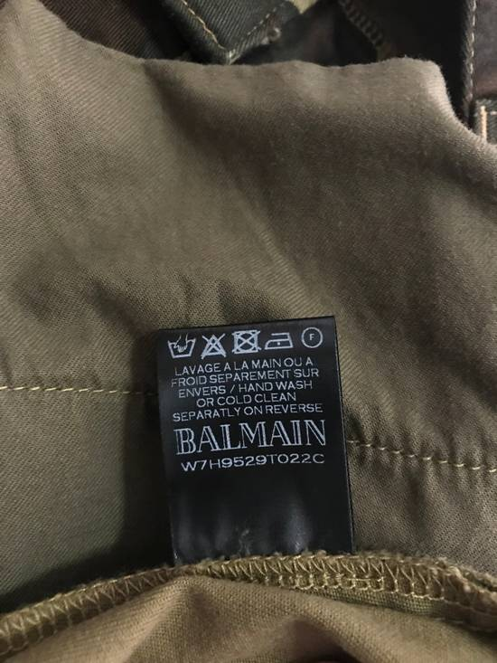 Balmain Size 36 - Heavily Distressed Camo Biker Jeans - FW17 - RARE Size US 36 / EU 52 - 6