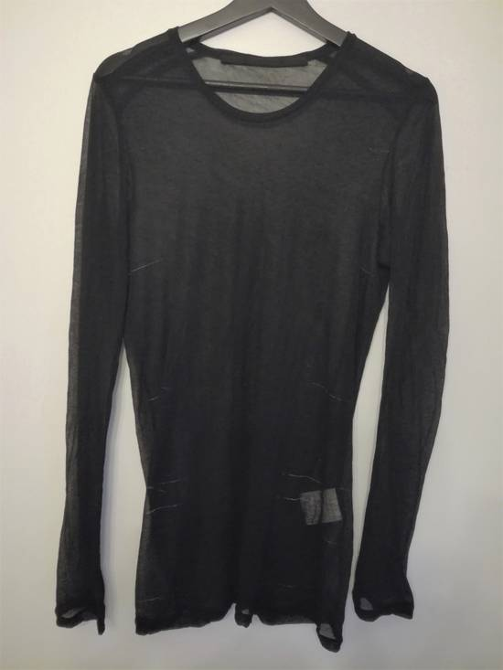 Julius SS16 sheer cotton long sleeve Size US S / EU 44-46 / 1 - 4