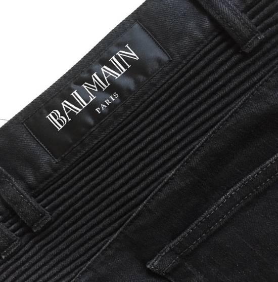 Balmain Biker Jeans Black Size US 30 / EU 46 - 2