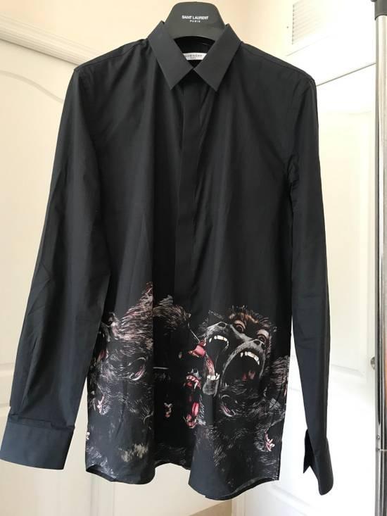 Givenchy Berserk Monkey Dress Shirt Size US M / EU 48-50 / 2
