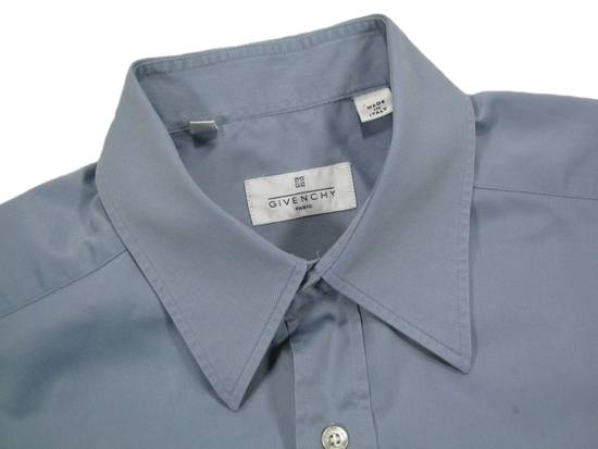 Givenchy Mens GIVENCHY PARIS Blue Cotton Casual Short Sleeve Shirt Size M 39 15.5 Rare Size US M / EU 48-50 / 2 - 2