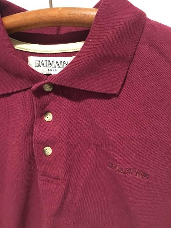 Balmain Vintage Maroon Polo Size US L / EU 52-54 / 3