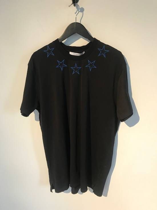 Givenchy Givenchy Black Columbian Star Appliqué T-shirt Size US S / EU 44-46 / 1