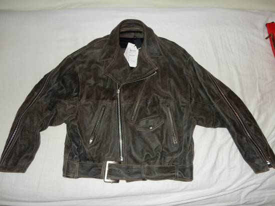 Julius Julius _ 7 oversized Biker Leather Jacket Size US L / EU 52-54 / 3