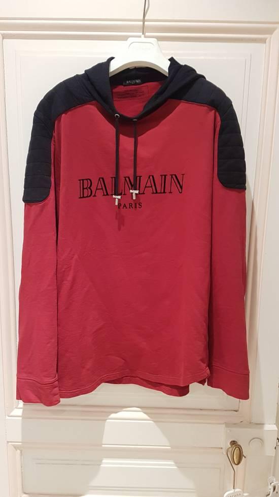 Balmain BALMAIN BIKER HOODIE FROM FW16 Size US XL / EU 56 / 4 - 1