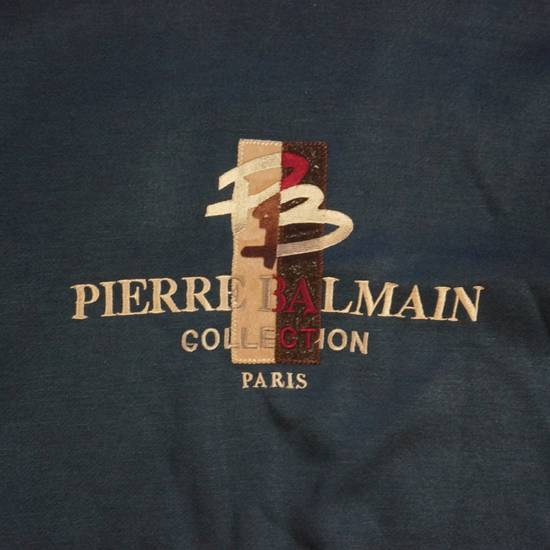 Balmain Pierre Balmain Sweatshirt Navy Size US L / EU 52-54 / 3 - 1
