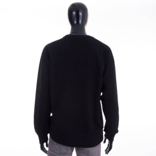Givenchy Black Cotton Sweater With Blurred Givenchy Paris Logo Size US XL / EU 56 / 4 - 3